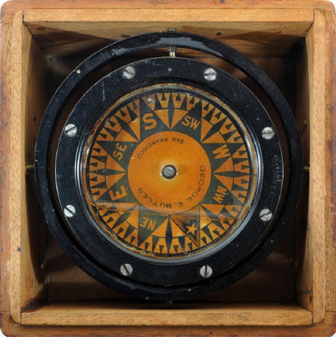 Vintage Box Compass Star Boston - 2