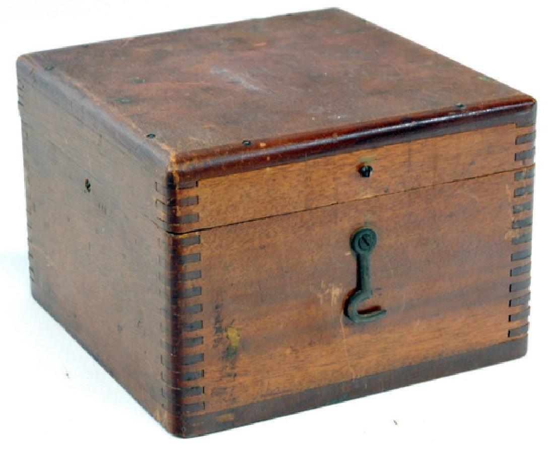 Vintage Box Compass Star Boston - 3
