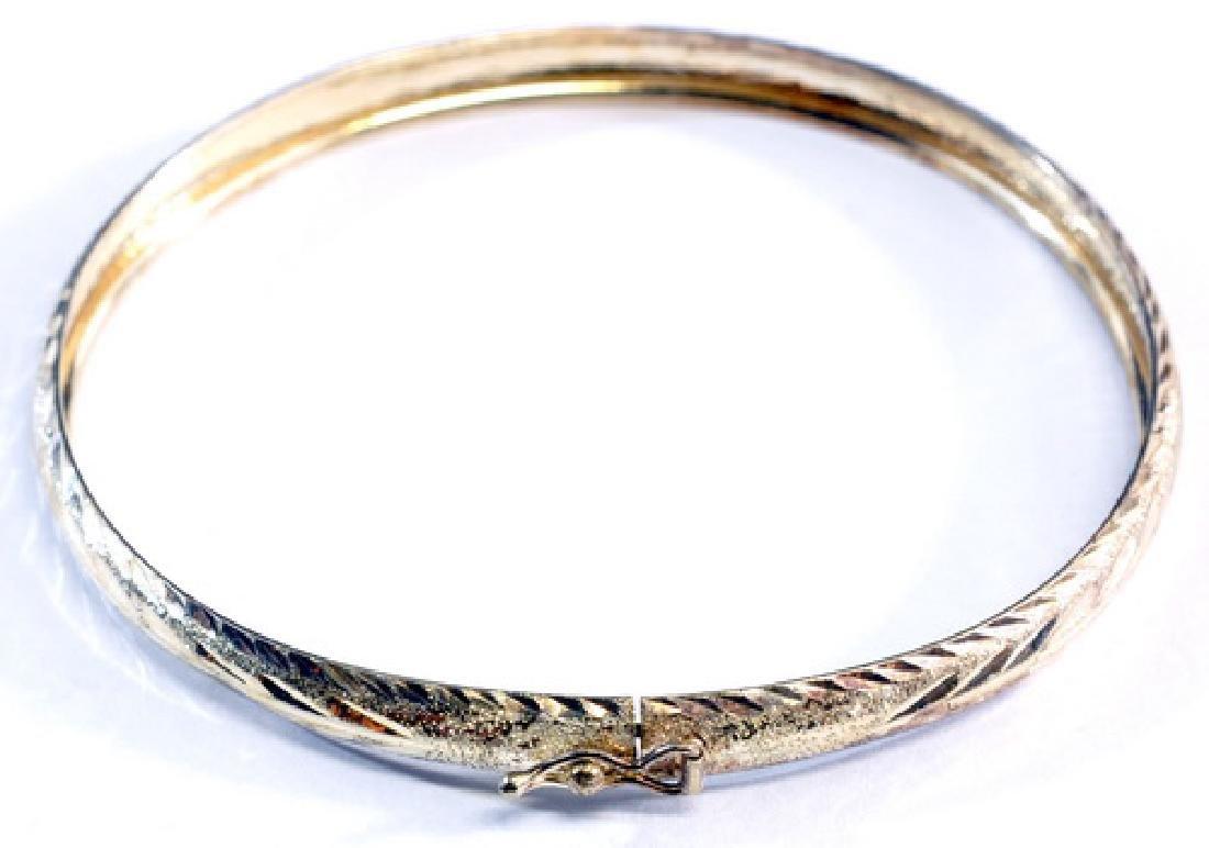 7- Vintage Sterling Silver 925 Bracelets - 2