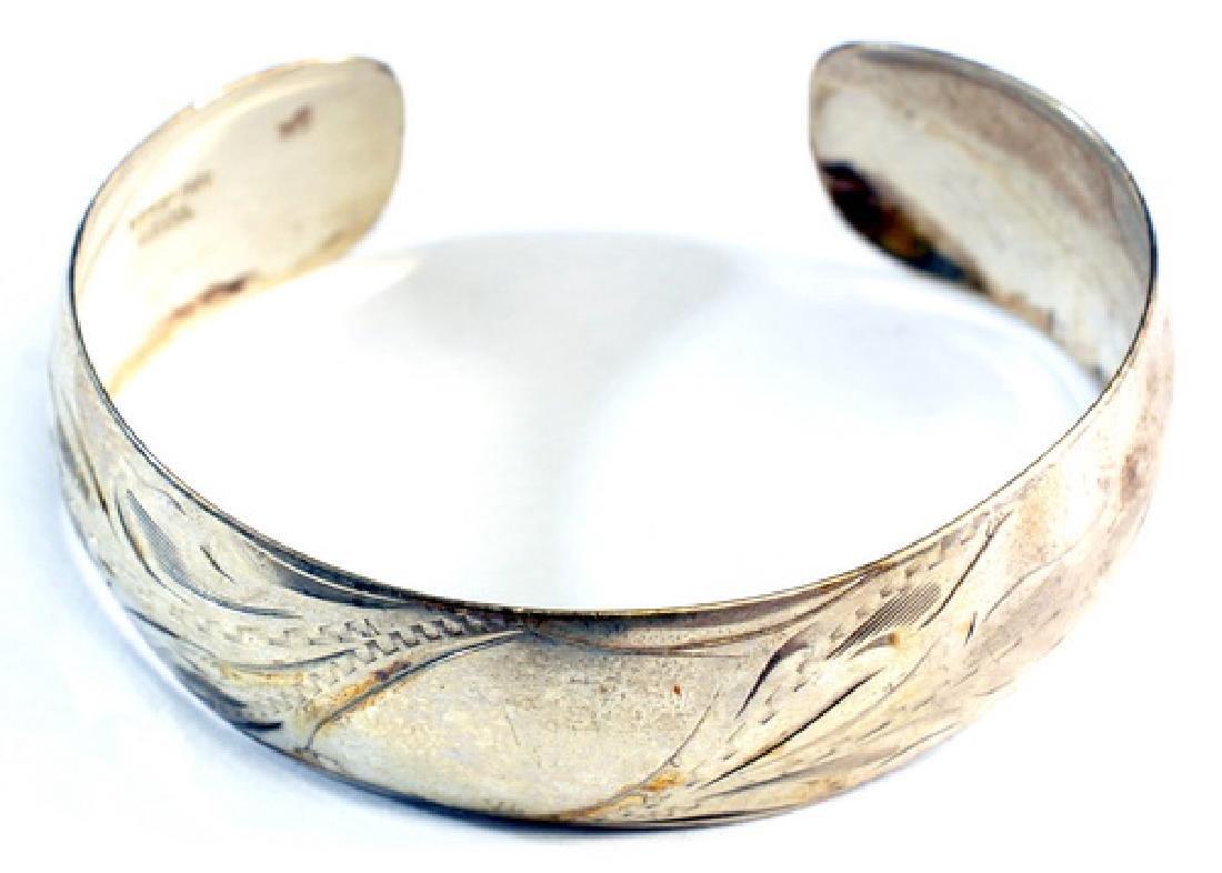 7- Vintage Sterling Silver 925 Bracelets - 3