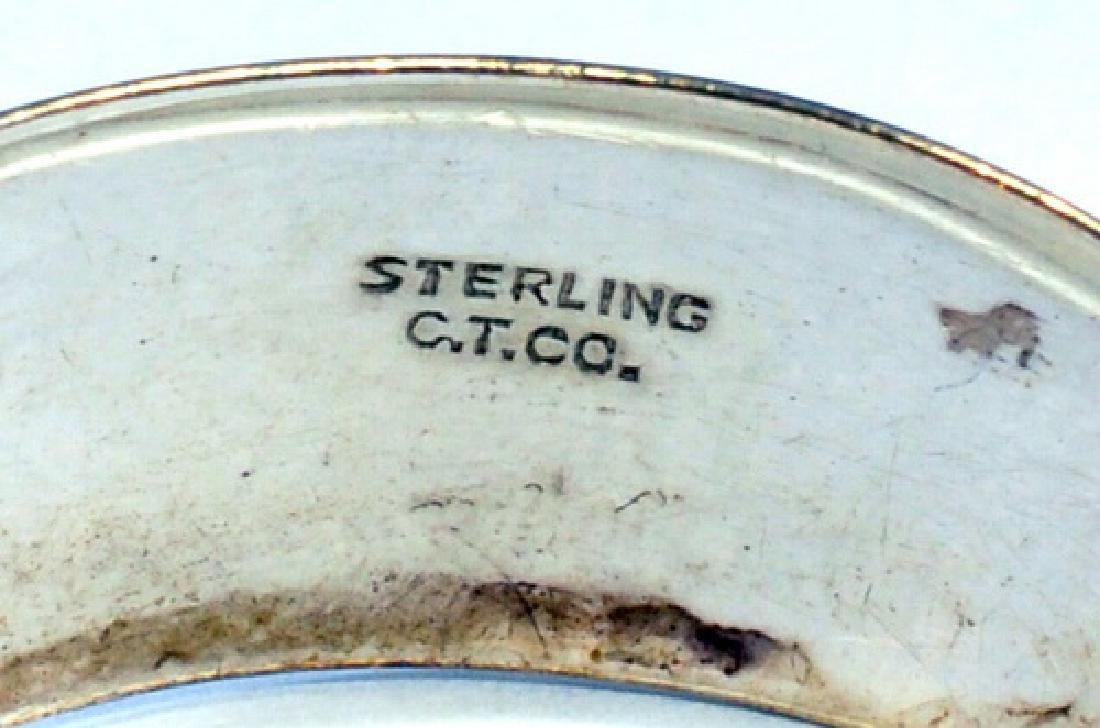 7- Vintage Sterling Silver 925 Bracelets - 4
