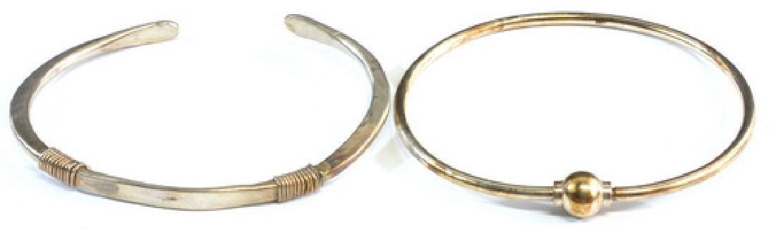 7- Vintage Sterling Silver 925 Bracelets - 5
