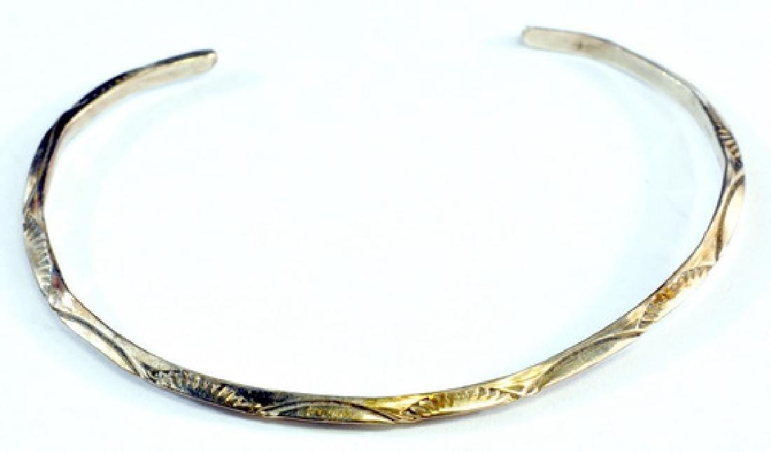 7- Vintage Sterling Silver 925 Bracelets - 6