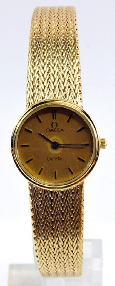Group Of Ladies Estate Watches Omega Bulova