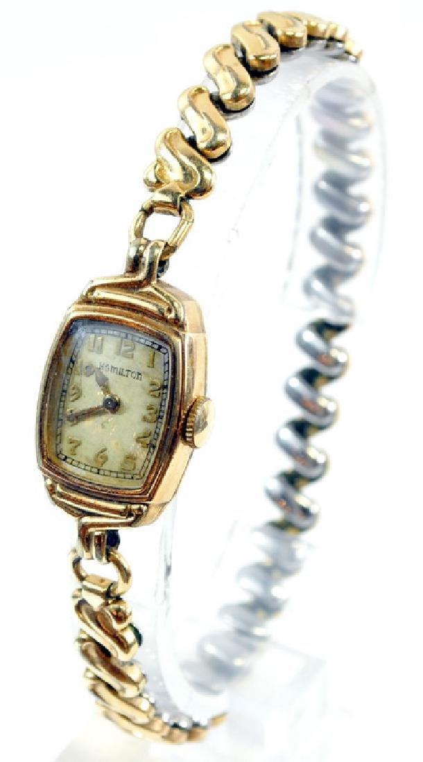 Group Of Ladies Estate Watches Omega Bulova - 6