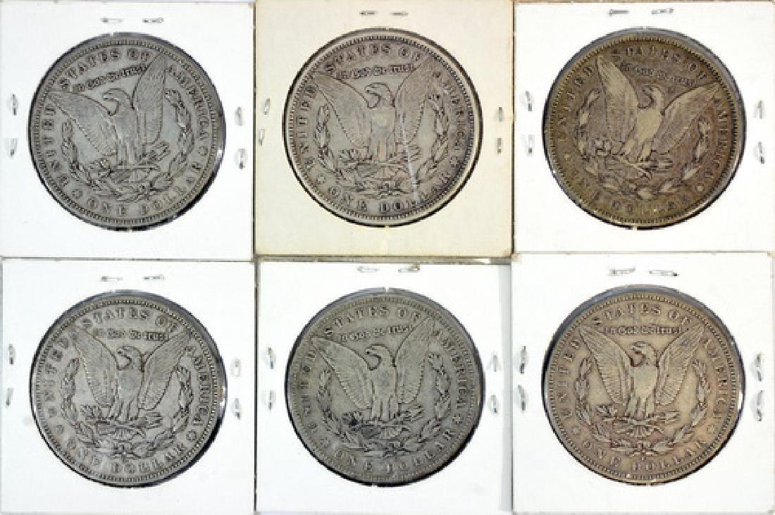 10 Morgan Silver Dollars - 2