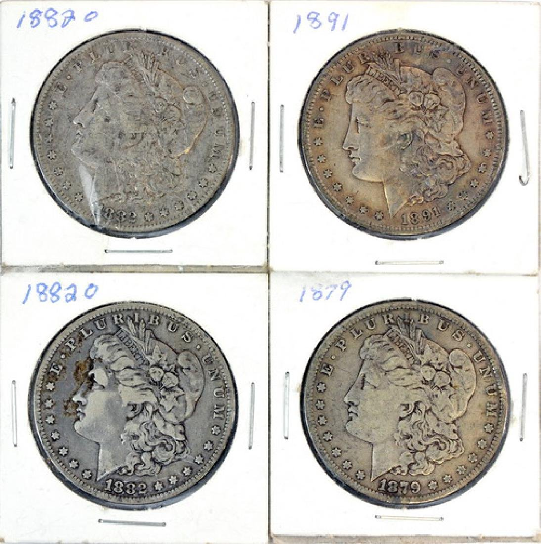 10 Morgan Silver Dollars - 3