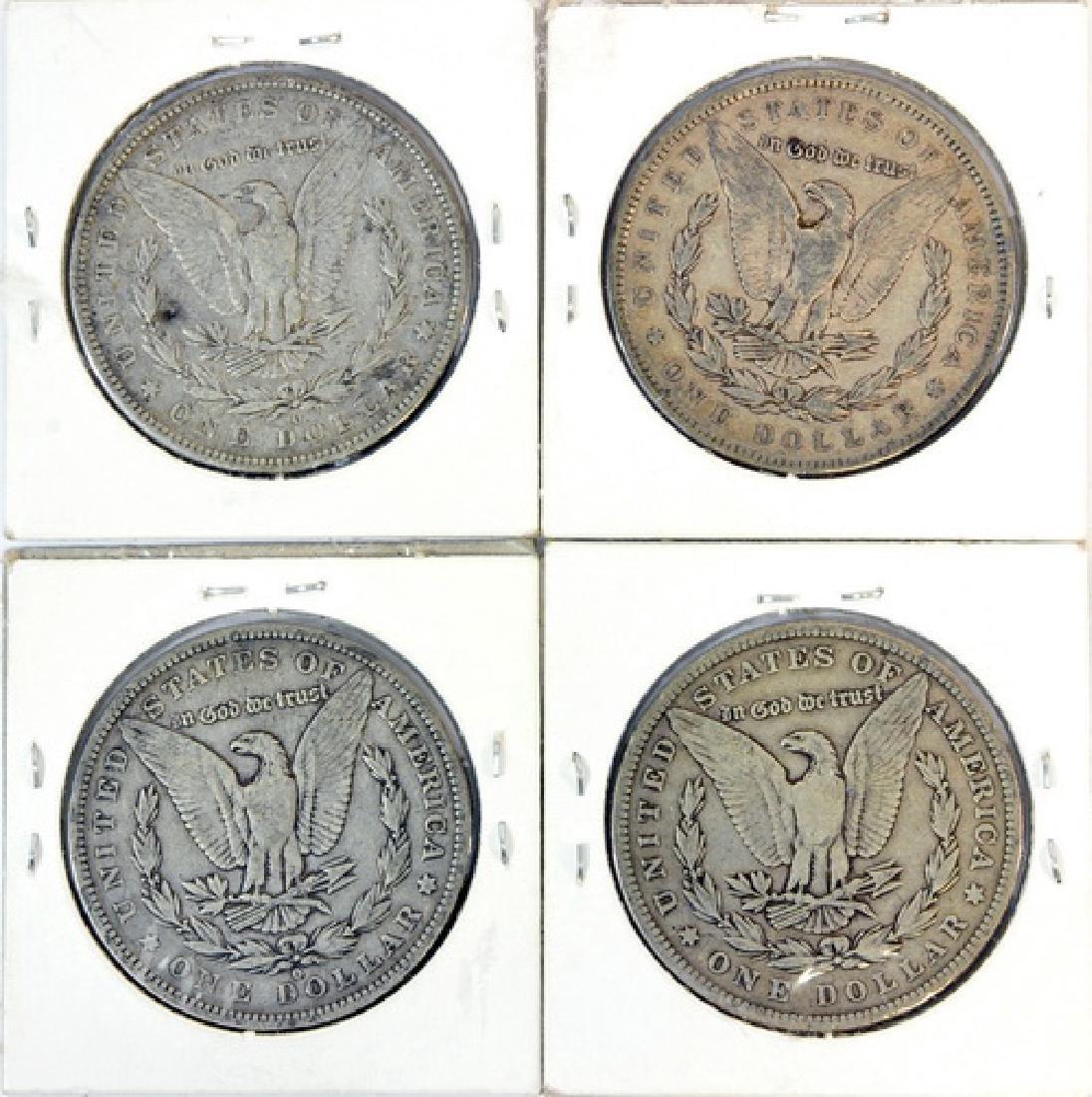 10 Morgan Silver Dollars - 4