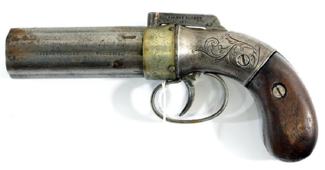 Antique Allen And Thurber Pepper pot Gun