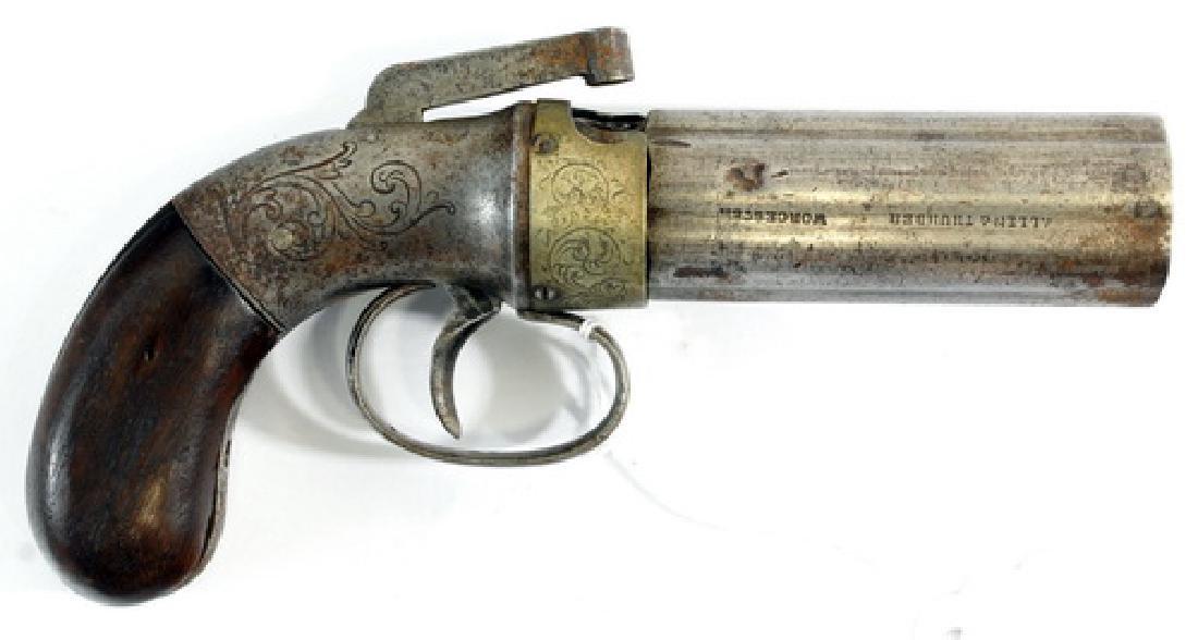 Antique Allen And Thurber Pepper pot Gun - 2