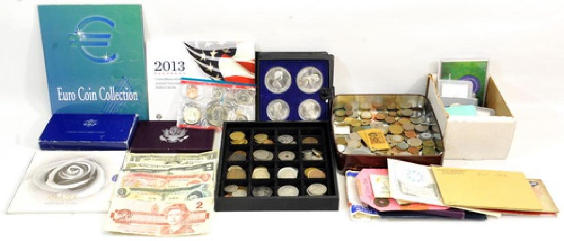 Estate Coins/silver/proof Sets