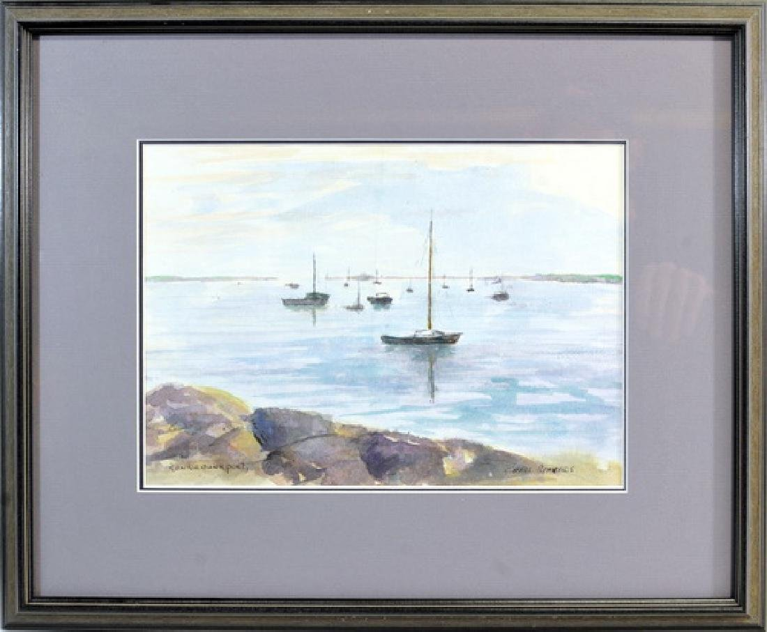 1 Watercolor signed Chris Stavros