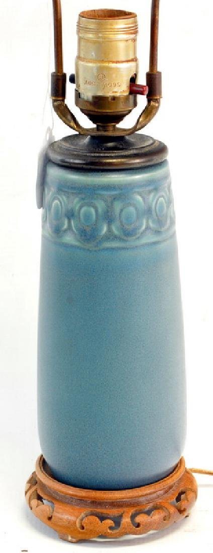 Rookwood Pottery, Arts and Craft Lamp Vase - 2