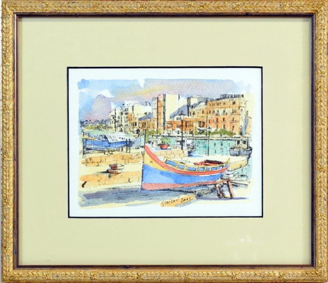1 Watercolor signed Stoilov 2002