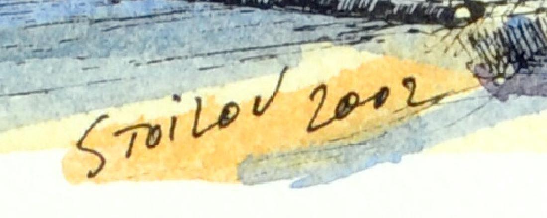 1 Watercolor signed Stoilov 2002 - 2