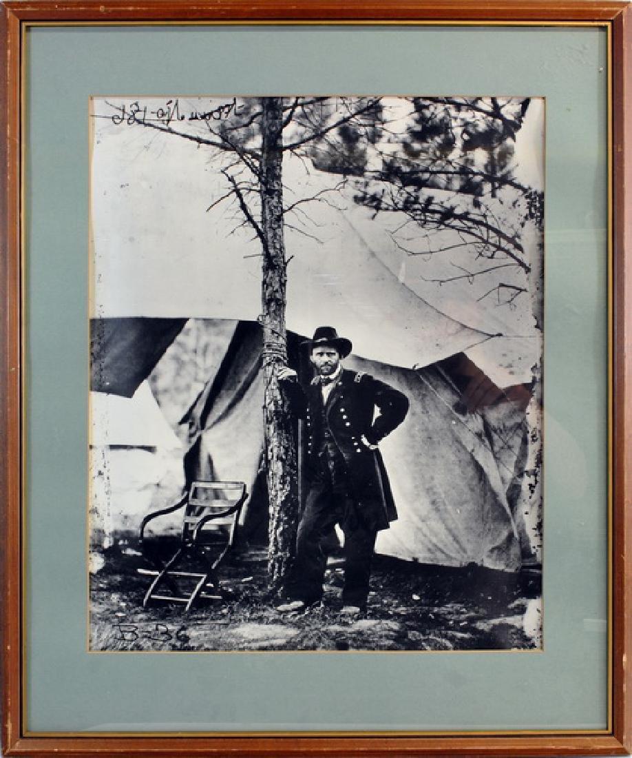 Union Gen. Ulysses S. Grant Photograph
