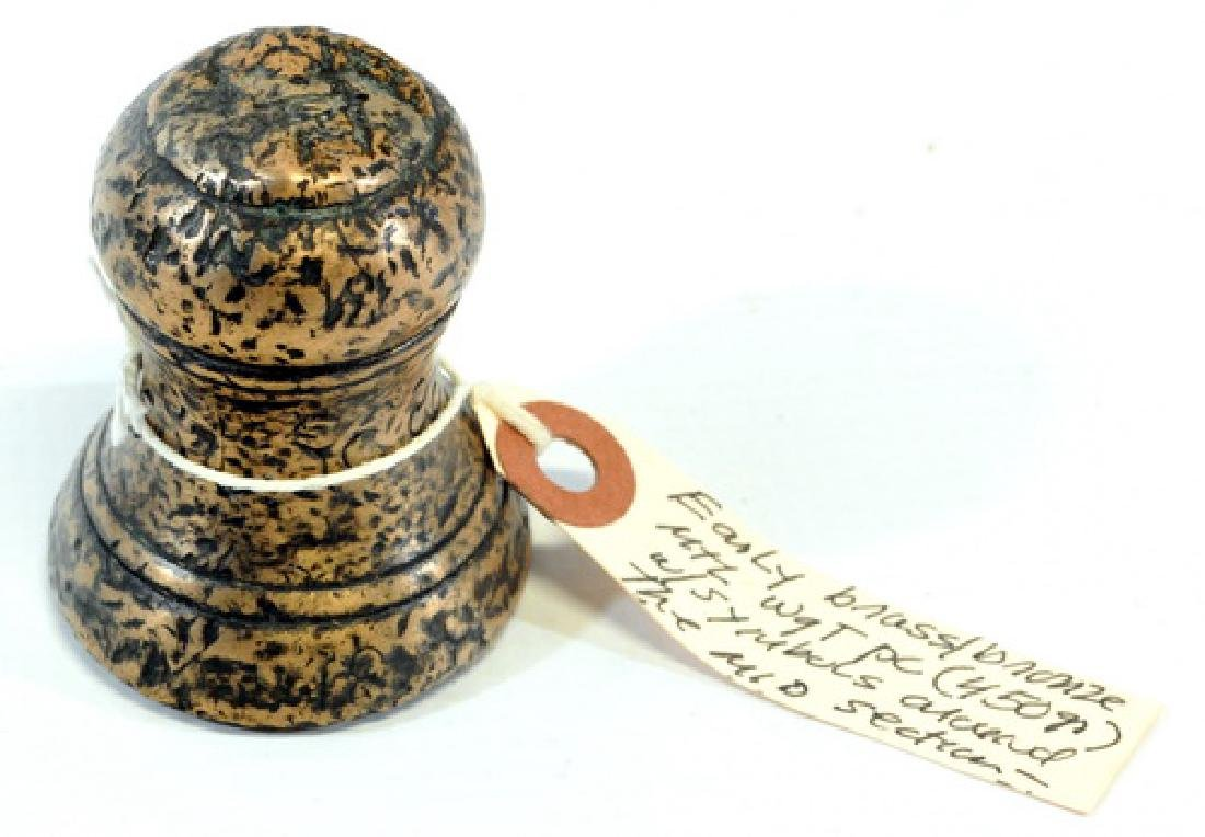 Vintage Balance scale/and 19th century weight - 2