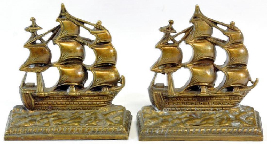 Bronze Bookend, Folding Mini Easel/Whimsy Figure