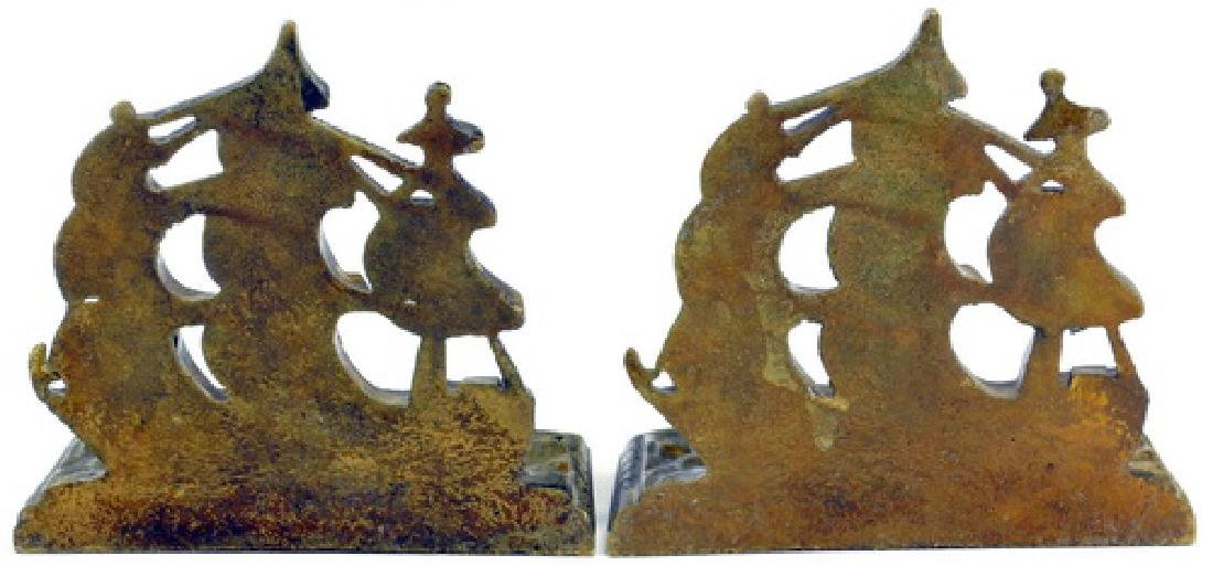 Bronze Bookend, Folding Mini Easel/Whimsy Figure - 2
