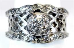 14kt. Diamond White Gold Estate Ring