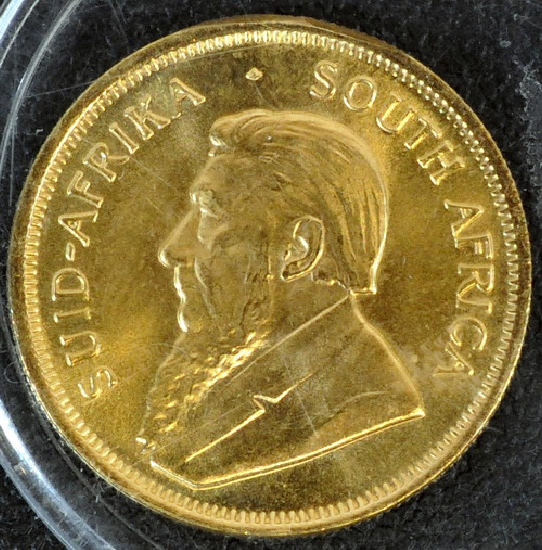 1982 South African 1/4 Ozt Krugerrand Gold Coin