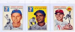 100 1954 Topps Baseball Cards