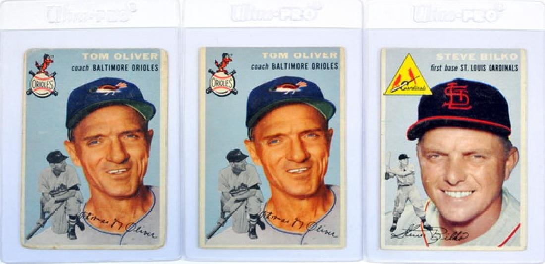100 1954 Topps Baseball Cards - 3