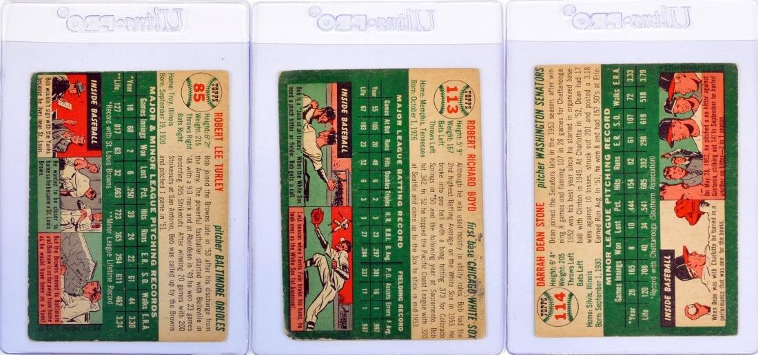 100 1954 Topps Baseball Cards - 6