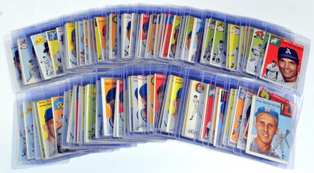 100 1954 Topps Baseball Cards - 7