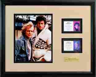 Starsky And Hutch Id Badges Framed