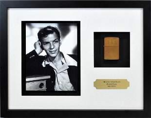 Frank Sinatra Personal Zippo Lighter