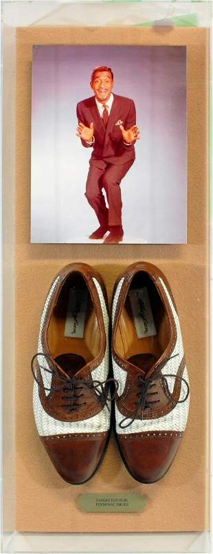Sammy Davis Junior Personally Owned Shoes