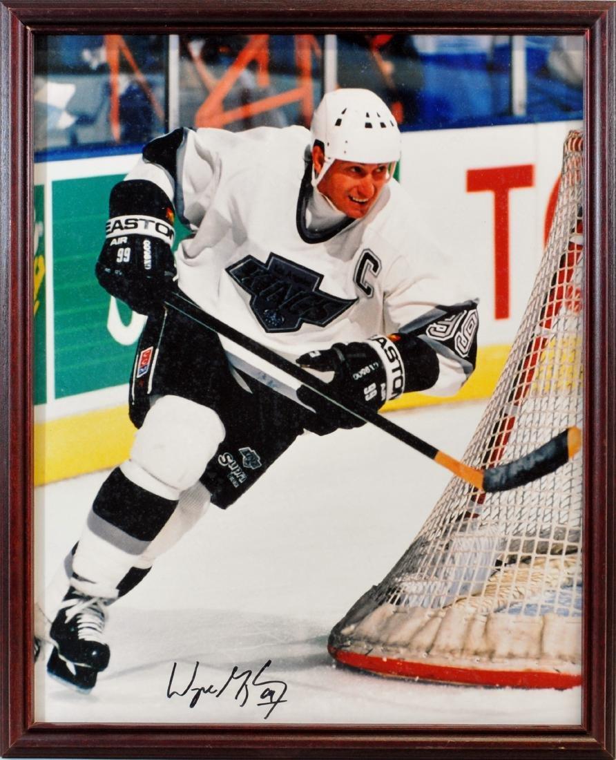Wayne Gretzky Signed Large Size Photo