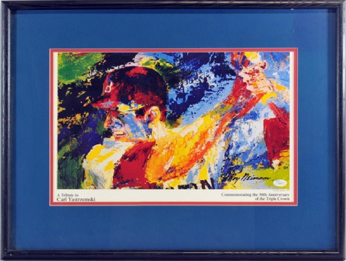 Leroy Neiman Carl Yastrzemski Signed Print