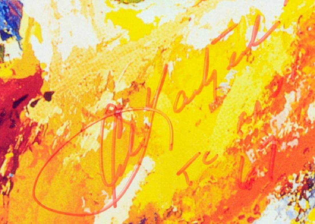 Leroy Neiman Carl Yastrzemski Signed Print - 2