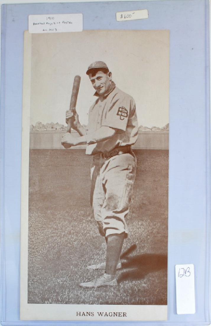 1910 Hans Wagner Baseball Magazine Poster