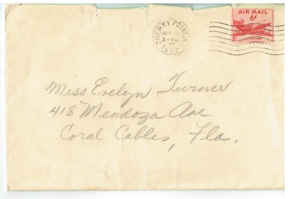 November 5 1952 Letter Written By Ted Williams - 3