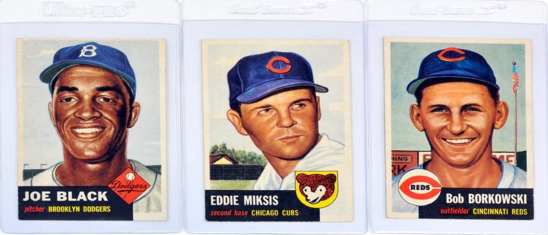 45 1953 Topps Baseball Cards