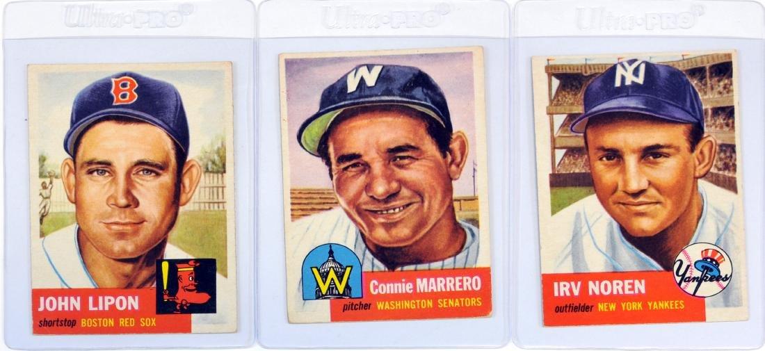 45 1953 Topps Baseball Cards - 5