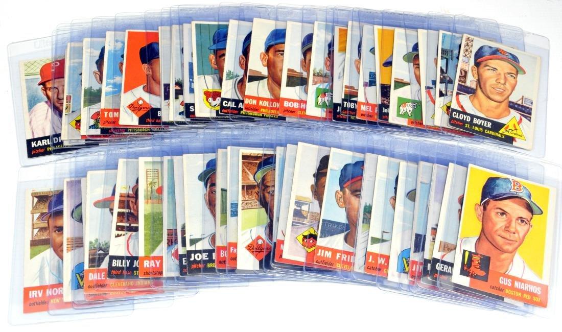 45 1953 Topps Baseball Cards - 7