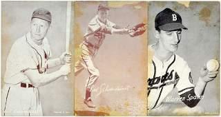 125 Estate Exhibit Baseball Cards