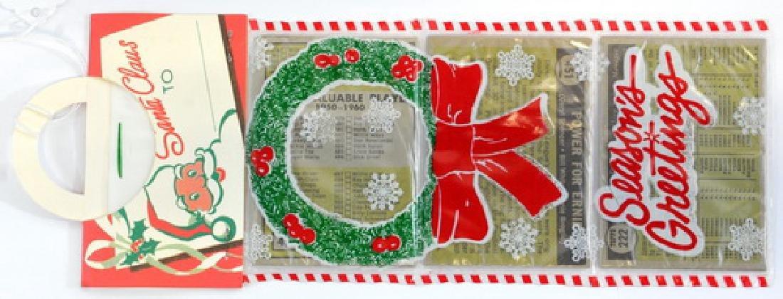 1961 Topps Christmas Rack Pack - 2