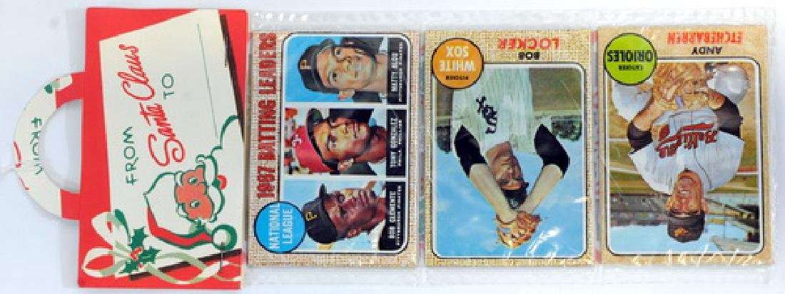 1968 Topps Christmas Rack Pack