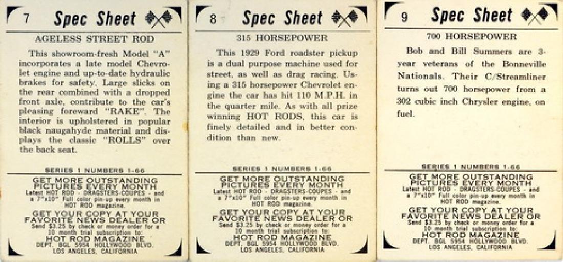 1965 Donruss Racing Set - 2