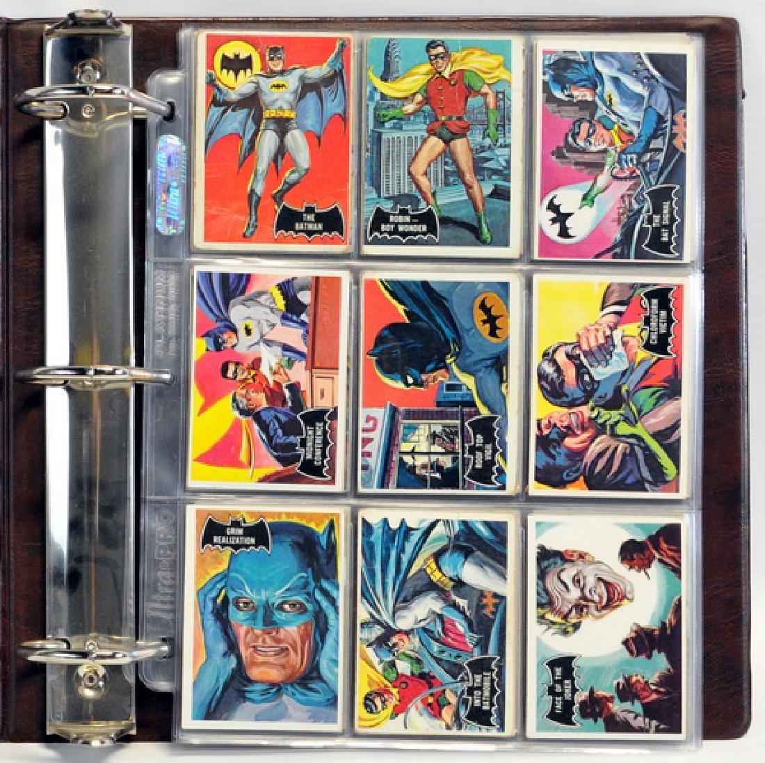 1966 Batman Black Bat Complete Set