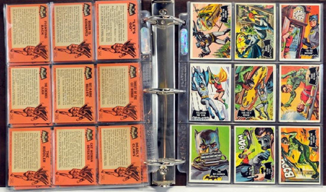 1966 Batman Black Bat Complete Set - 5
