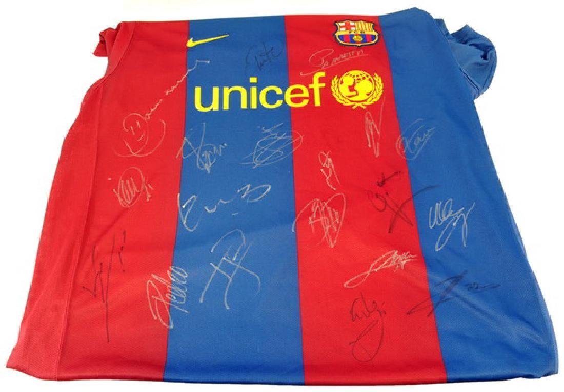 Spain Signed Championship Soccer Jersey - 2