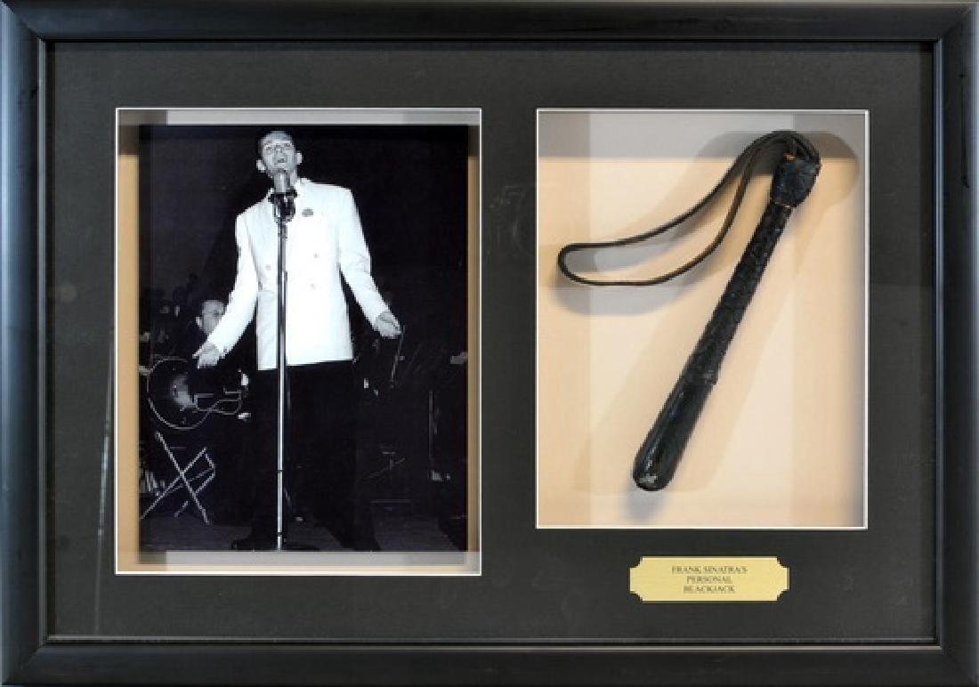 Frank Sinatra Personal Leather Blackjack
