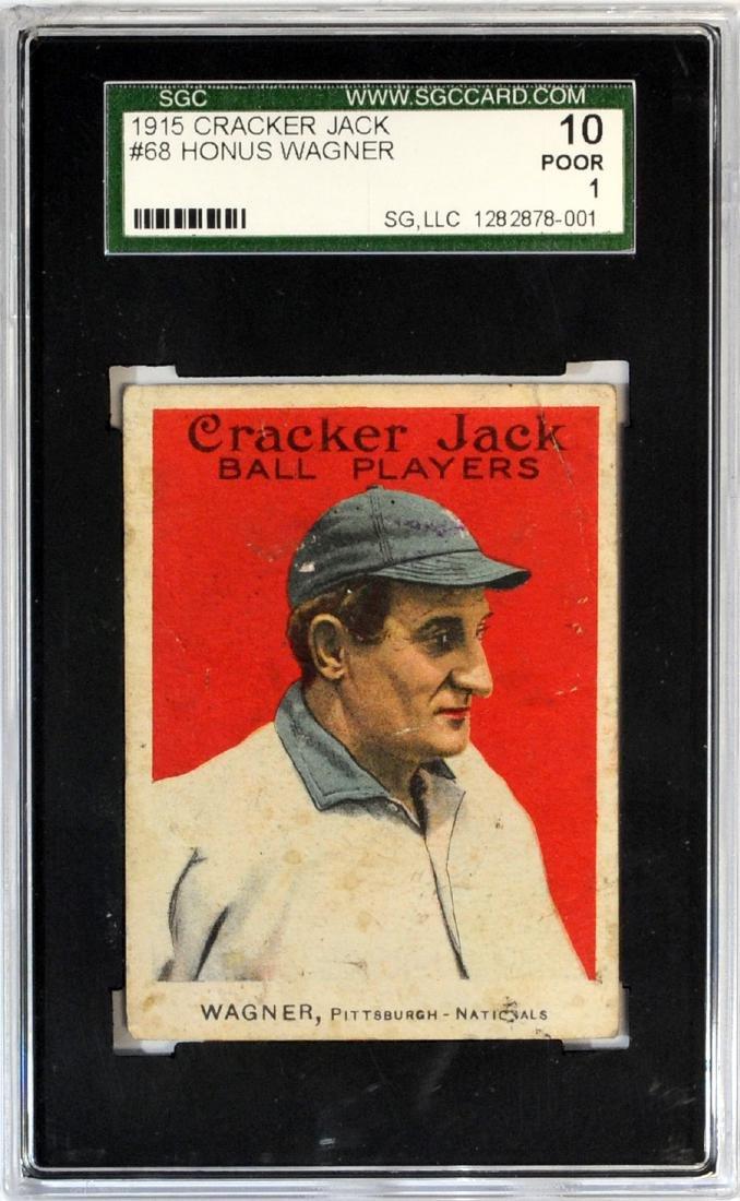 1915 Cracker Jack Honus Wagner Psa 10