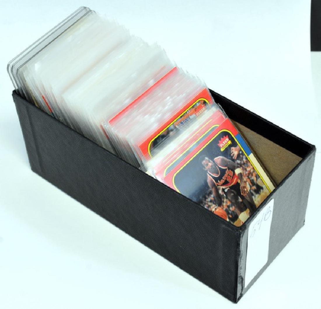 Near Complete 131 Card 1986 Fleer Basketball - 7